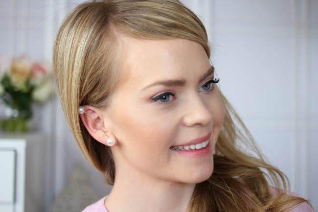 Ohrringe mit Perlen selber machen