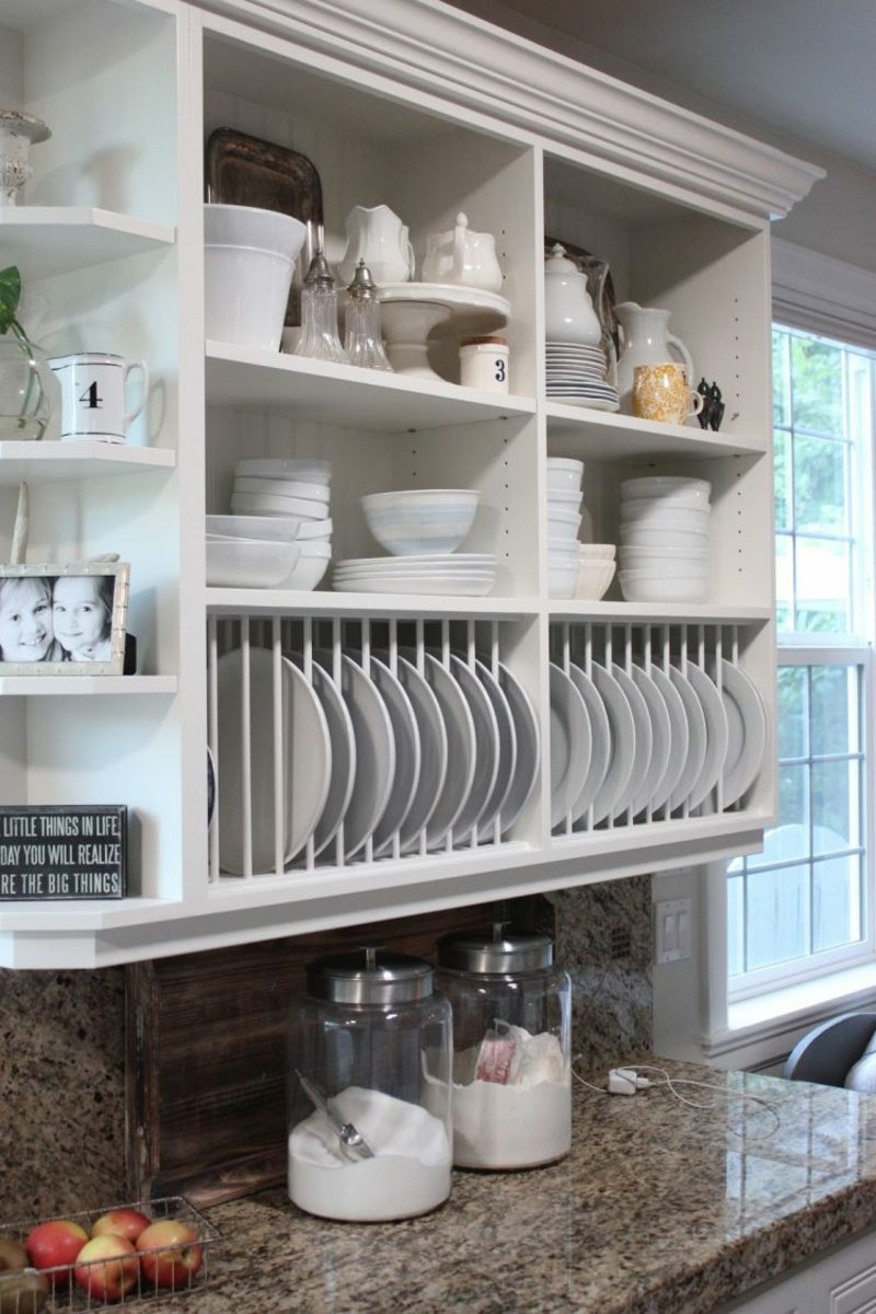 Küchenregale funktional ausreichend Stauraum