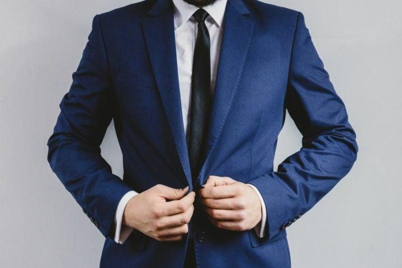 Anzüge Herren stilvoll in Tiefblau
