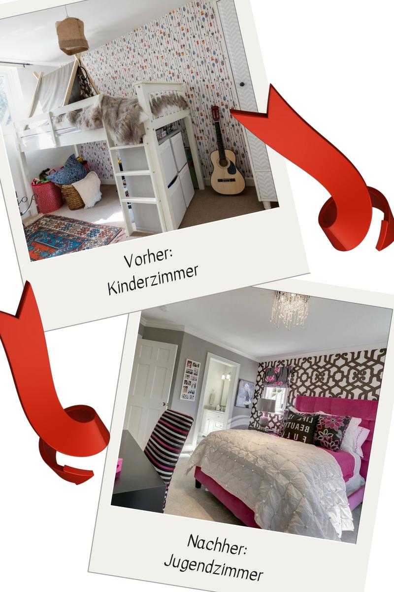 Vom Kinderzimmer zum Jugendzimmer: Umgestaltung Ideen mit Tapete Jugendzimmer