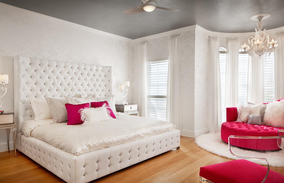 Jugendzimmer Weiß: Tapete oder Wandfarbe