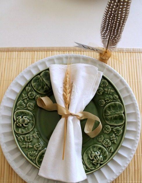 Tischideen und Ambiente: Das Teller Set ist wichtig!