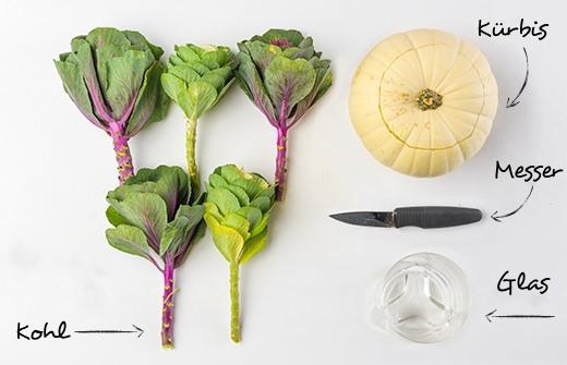 Tischideen und Ambiente: DIY Blumenvase für den Herbst