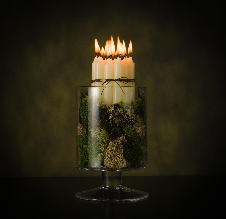 Tischideen und Ambiente: DIY Kerzenhalter