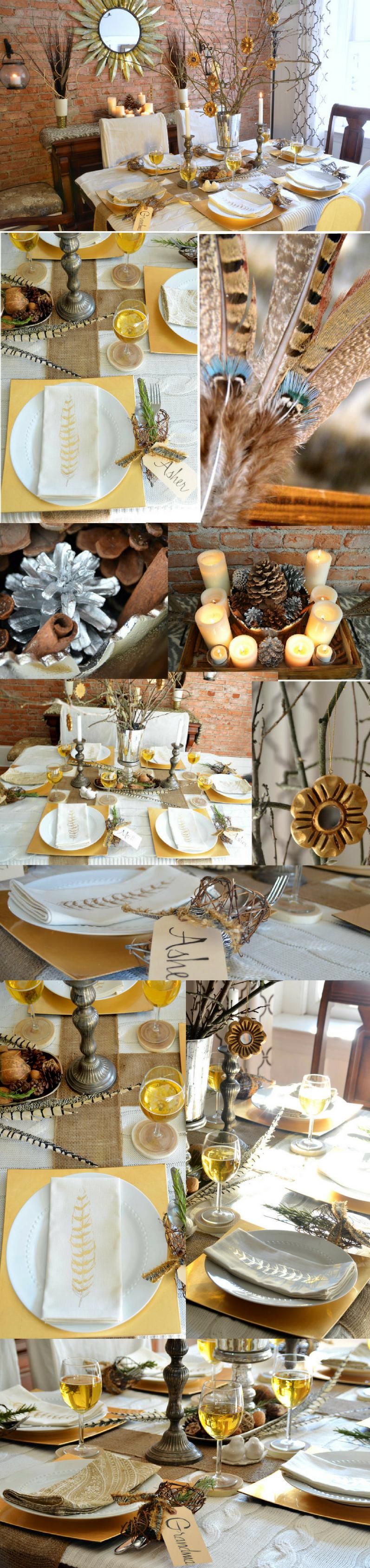 Herbstliche Tischideen und Ambiente im Senfgelb: Dekorieren Sie den Tisch festlich