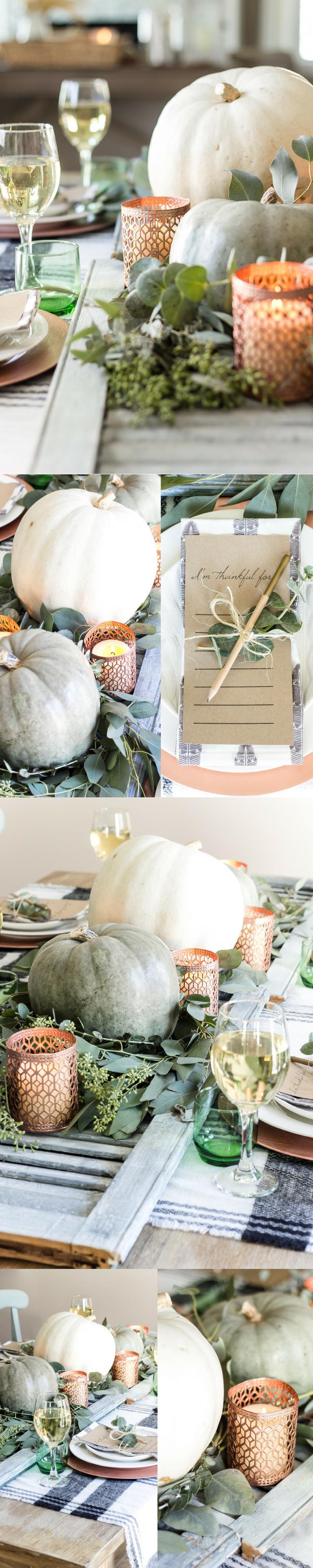 Herbstliche Tischideen und Ambiente: Dekorieren Sie den Tisch festlich