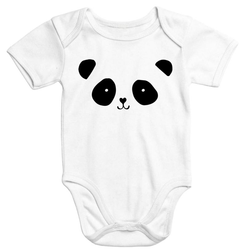 Body bemalen Panda origineller Look