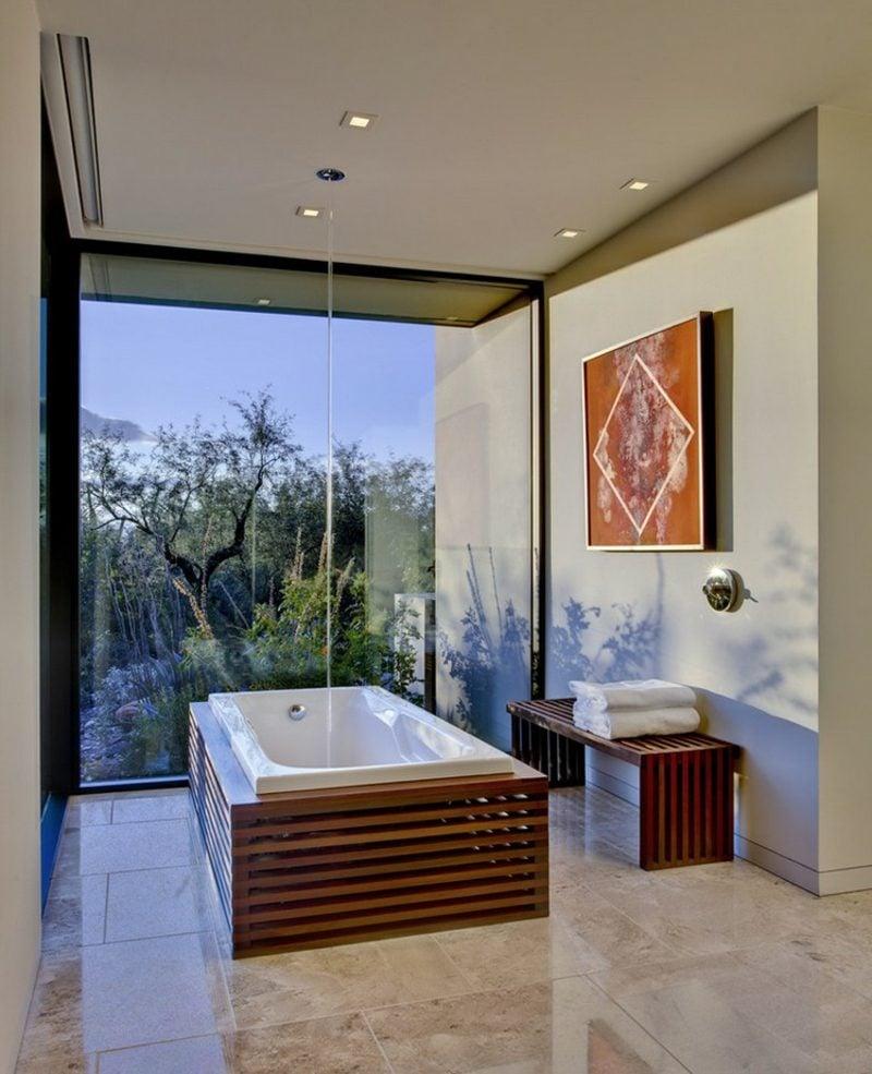 Bilder fürs Bad geometrische Formen versiegelt