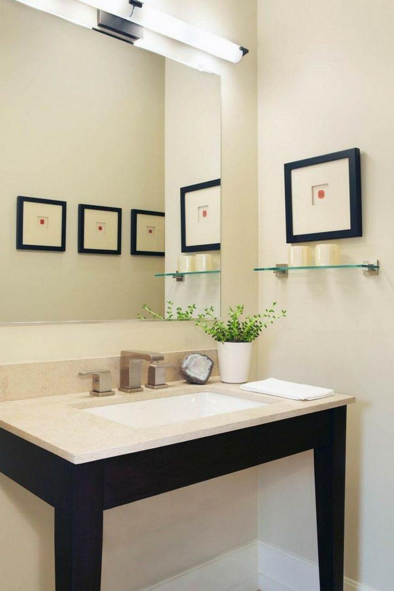 Bilder fürs Bad klein quadratisch minimalistisch