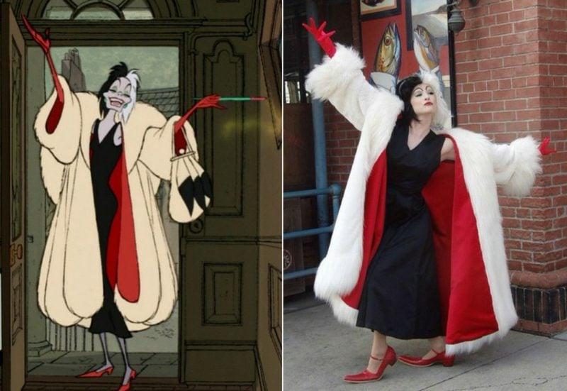 Cruella De Vil Kostüm selber machen