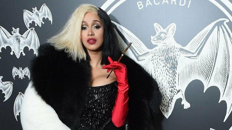 Cruella De Vil Kostüm Cardi B