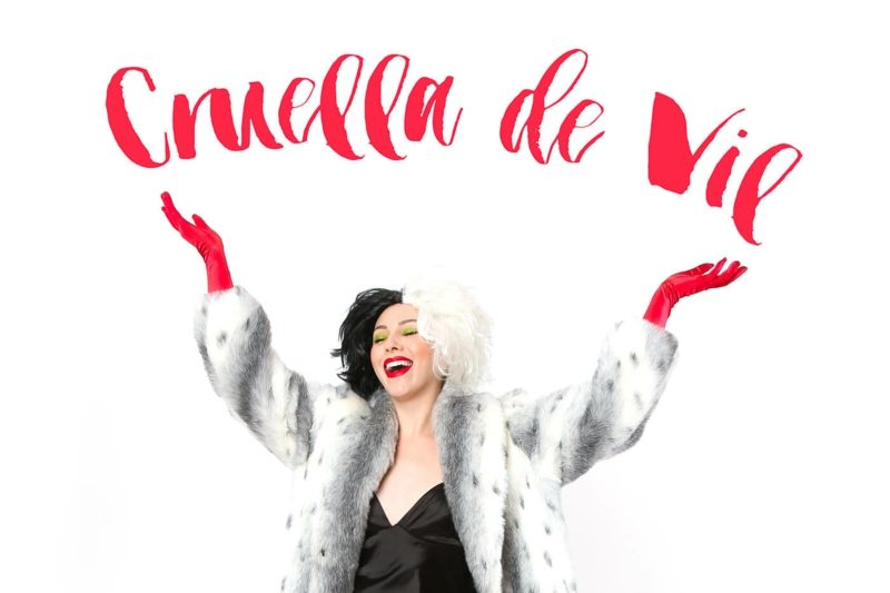 Cruella De Vil Kostüm Zu Fasching Tolle Idee Für Damen