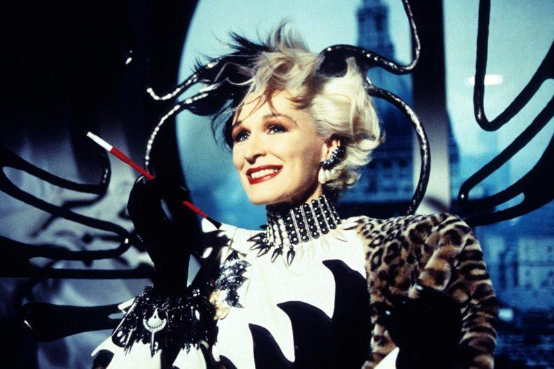 Cruella De Vil Kostüm die Darstellung von Glenn Close