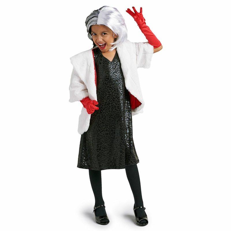 Cruella De Vil Kostüm Fasching Kind