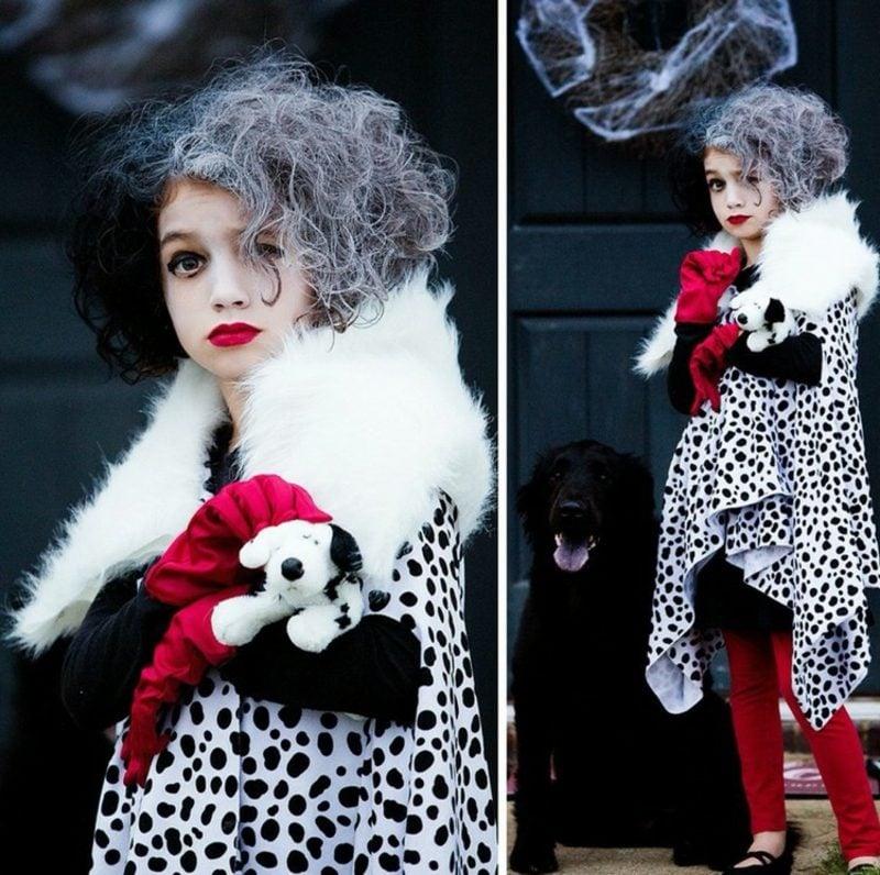 Cruella De Vil Kostüm Kind Puppe origineller Look