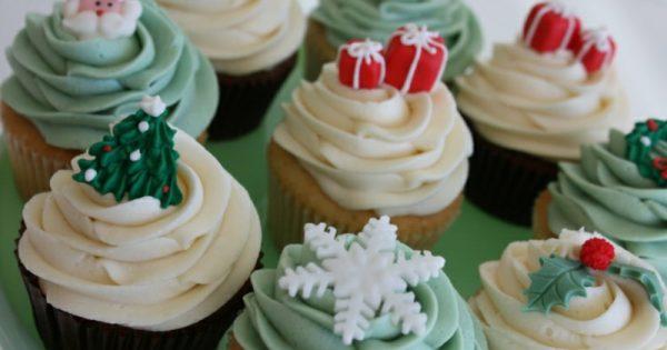 Weihnachts cupcakes ideen f r toppings und rezepte - Fondant deko ideen ...