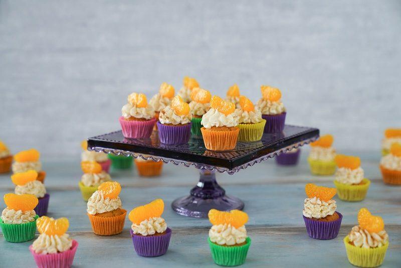 Weihnachts Cupcakes backen Teig mit Fanta