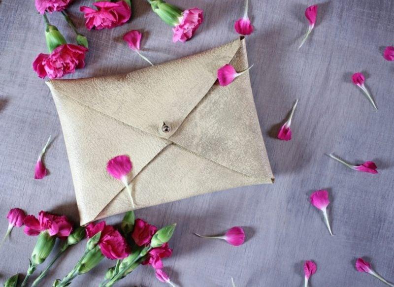 Briefumschlag falten originell Geldgeschenk