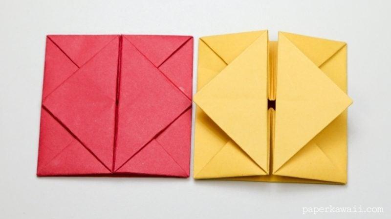 Briefumschlag falten Origami eindrucksvoll