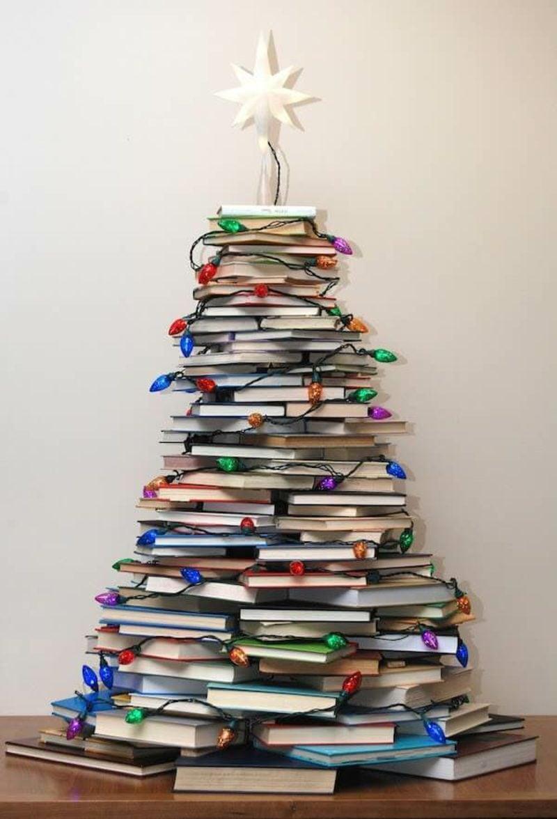 Weihnachtsbaum basteln Bücher