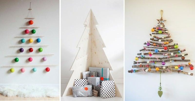 Weihnachtsbaum basteln umweltfreundlich Ideen und Inspirationen