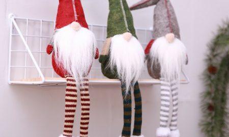 Wichtel basteln mit Kindern Weihnachtsdeko toller Look