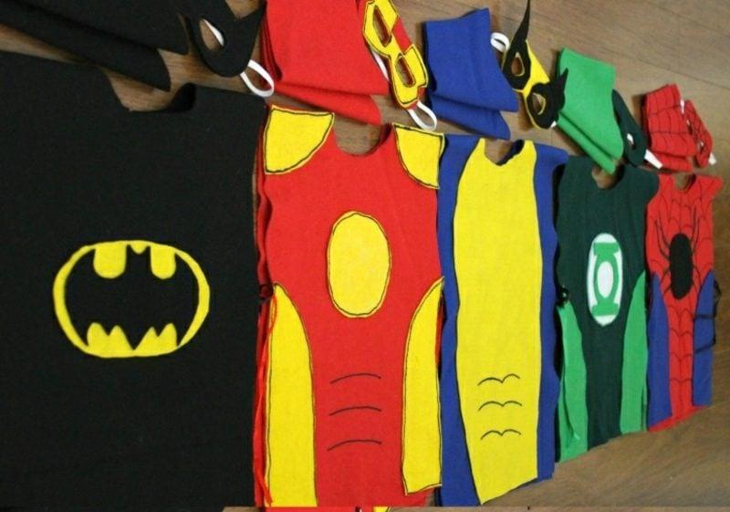 Halloween Kostüme Herren Superheld DIY