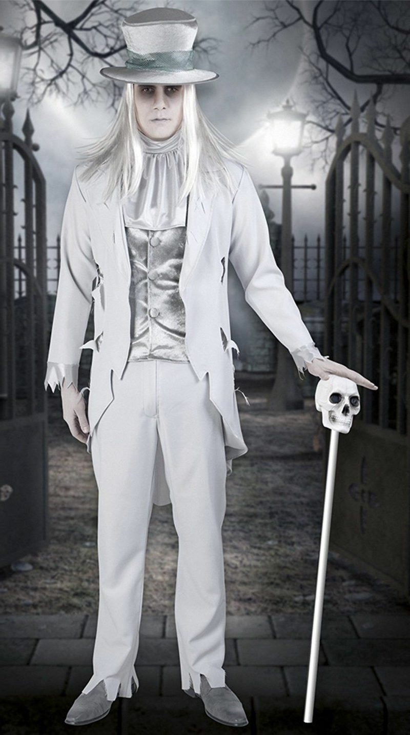 Halloween Kostüme Herren Geisterbräutigam