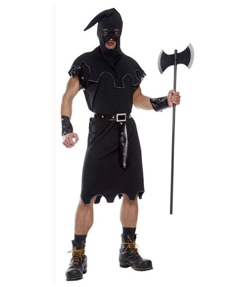 Halloween Kostüme Herren Henker Kapuze