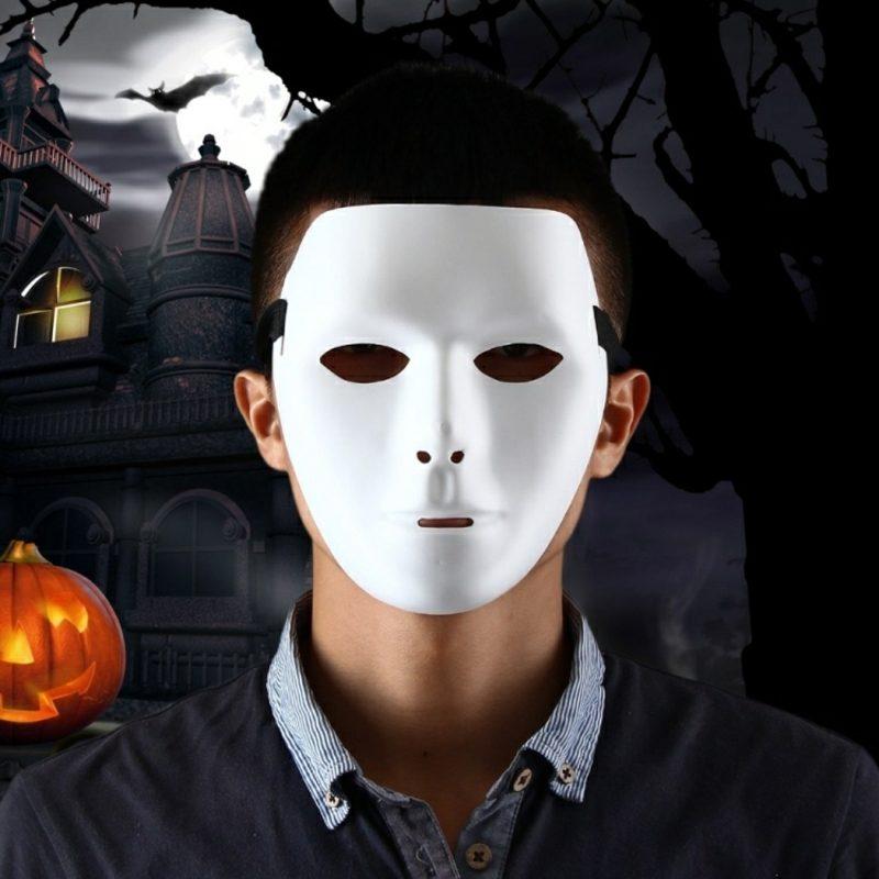 Halloween Kostüme Herren schaurige Maske
