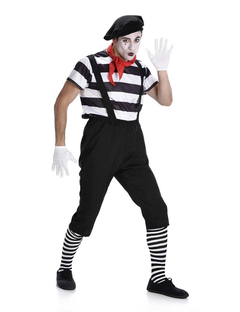 Halloween Kostüme Herren Mime