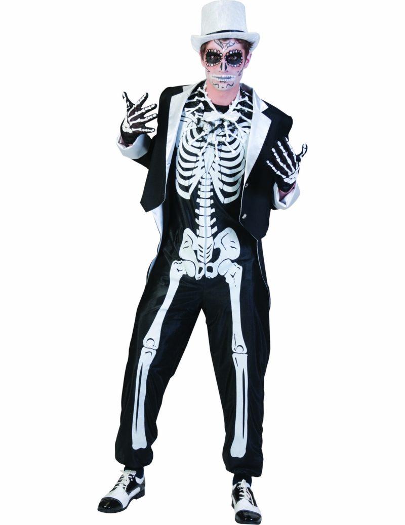 Halloween Kostüme Herren Skelett
