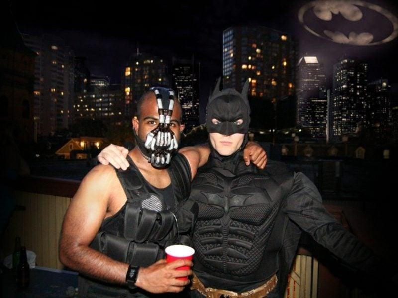 Halloween Kostüme Herren Superhelden