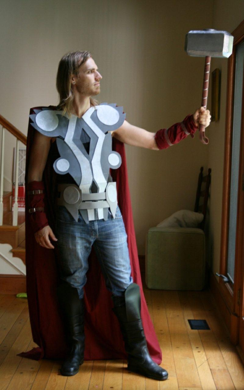 Halloween Kostüme Herren Thor Hammer Karton