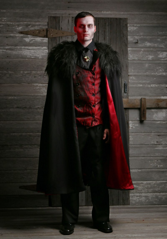 Halloween Kostüme Herren Vampir stilvoll