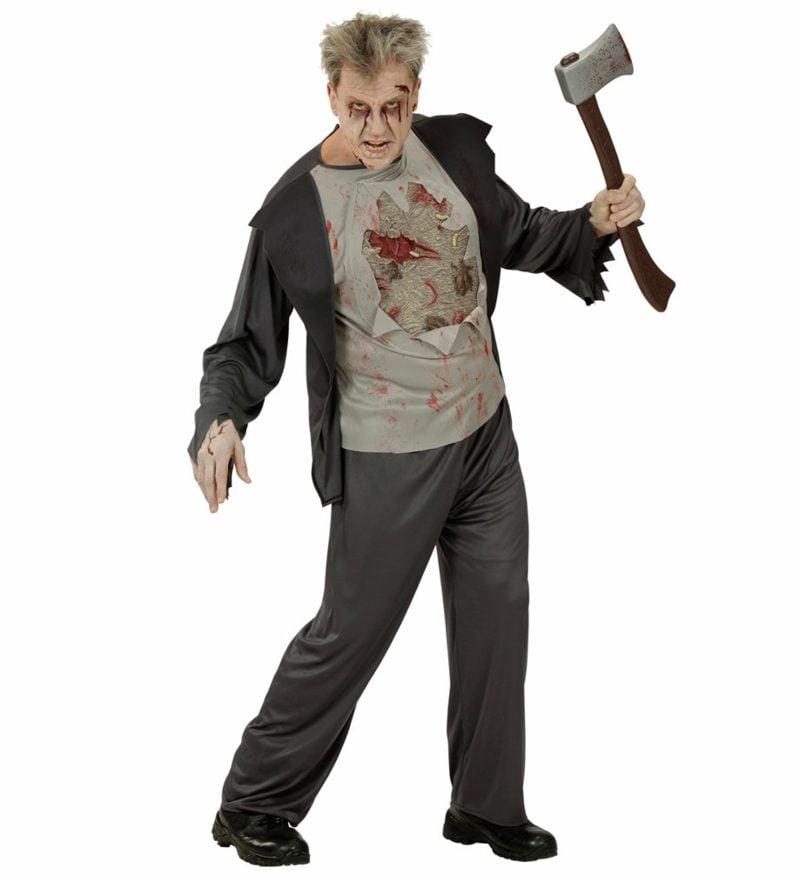Halloween Kostüme Herren Zombie Beil