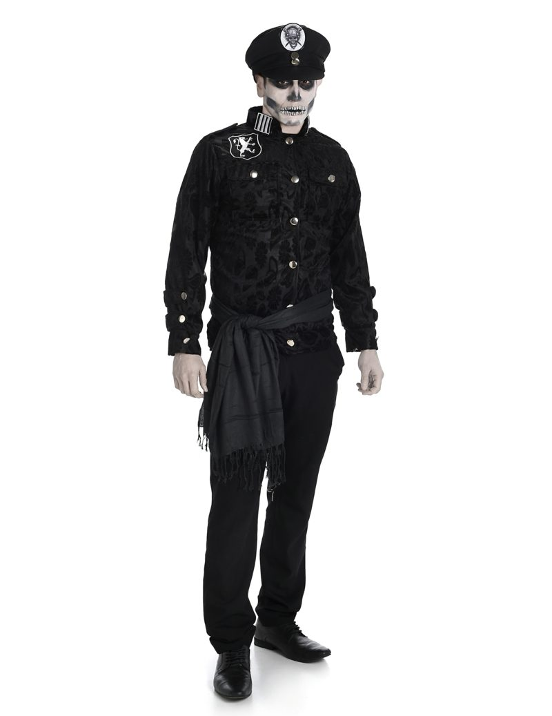 Halloween Kostüme Herren Zombie Offizier