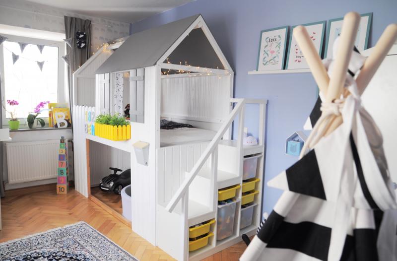 IKEA Kinderbett Haus wirklich originell
