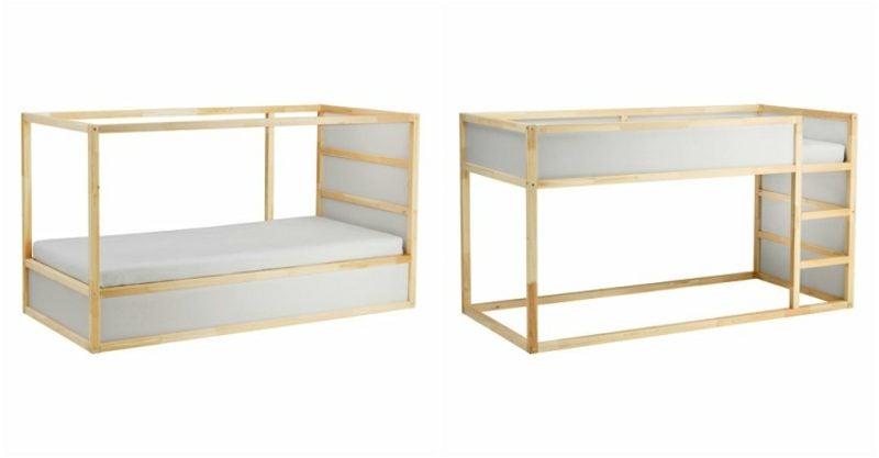 IKEA Kinderbett schlichtes Design