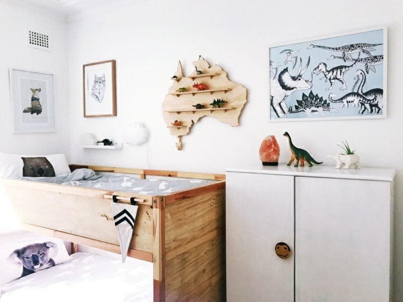 IKEA Kinderbett Holz Naturoptik