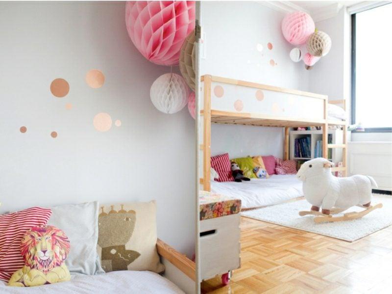 IKEA Kinderbett eindrucksvolle Deko Kuschelecke unten