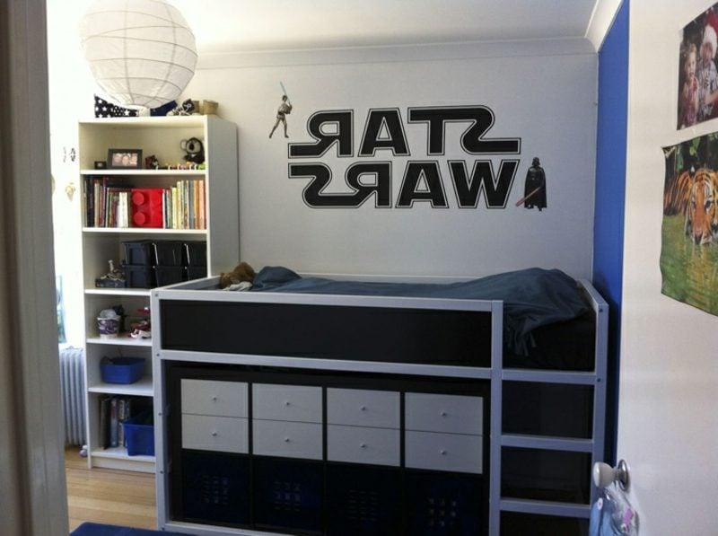 IKEA Kinderbett Jungenzimmer Star Wars Thema