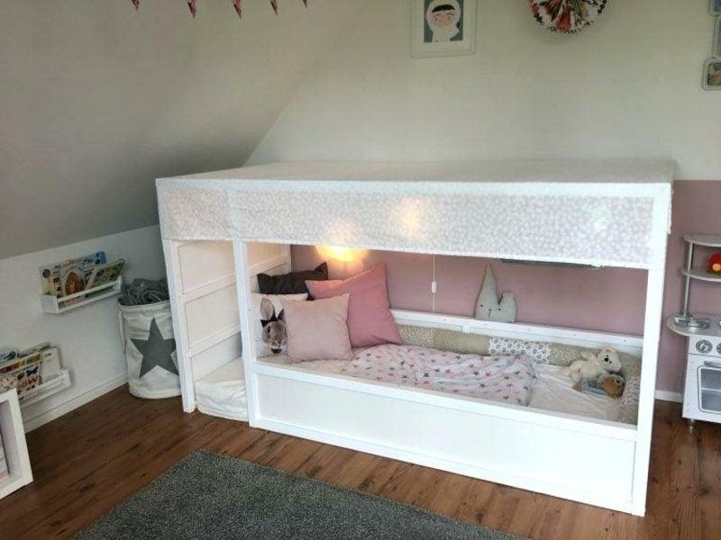 IKEA Kinderbett weiss herrlicher Look