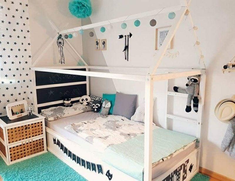 IKEA Kinderbett ins Haus verwandeln
