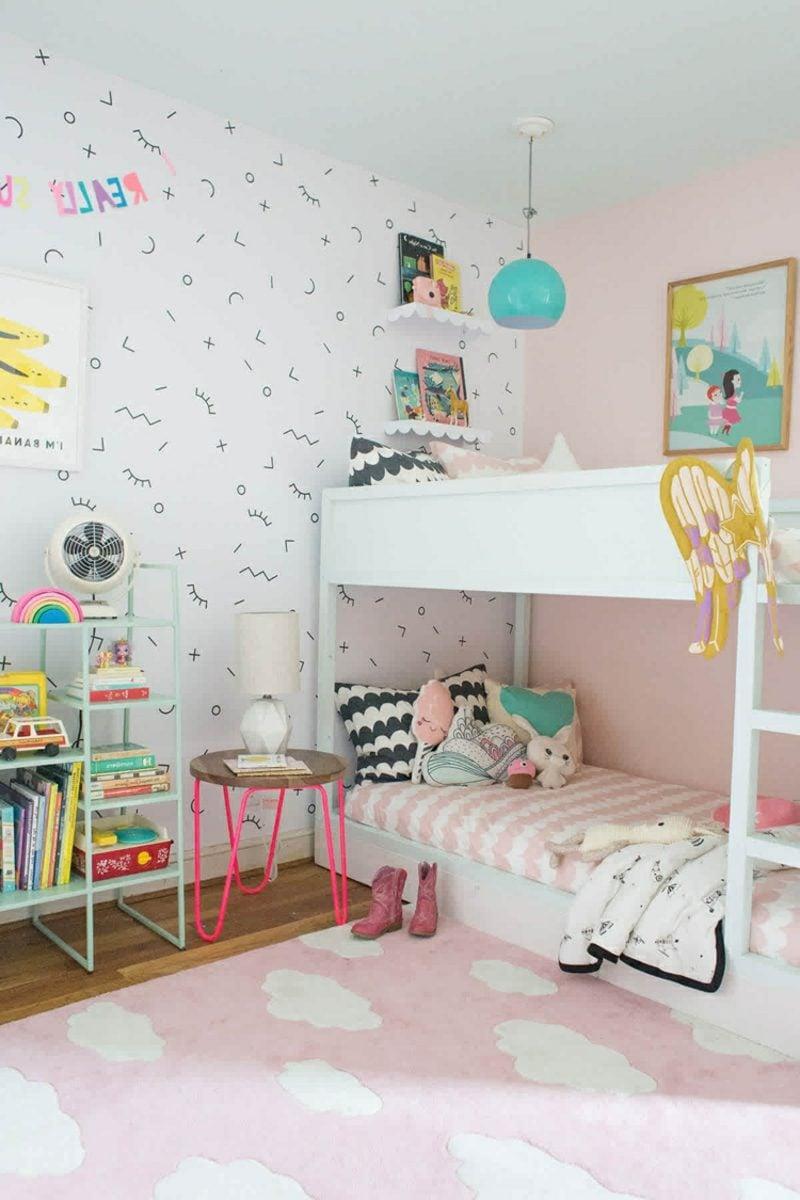 IKEA Kinderbett Mädchenzimmer zwei Kinder