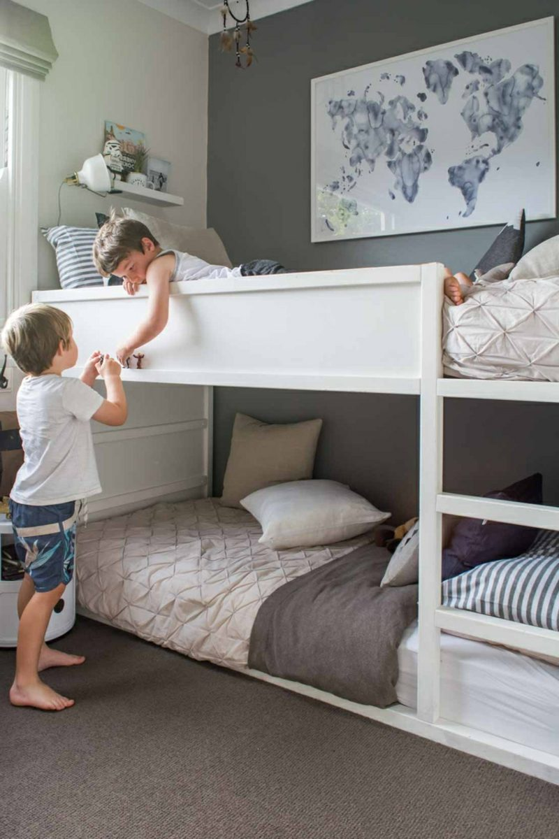 ikea kinderbett f r s e tr ume 40 moderne ideen. Black Bedroom Furniture Sets. Home Design Ideas