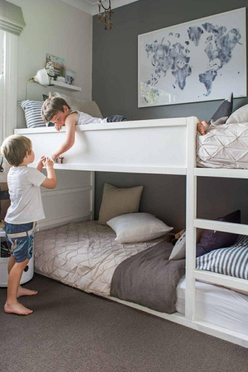 IKEA Kinderbett Jungenzimmer zwei Kinder