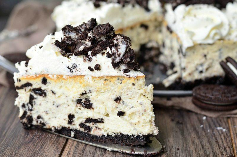 Oreo Kuchen ohne Backen mit Frischkäse Rezept