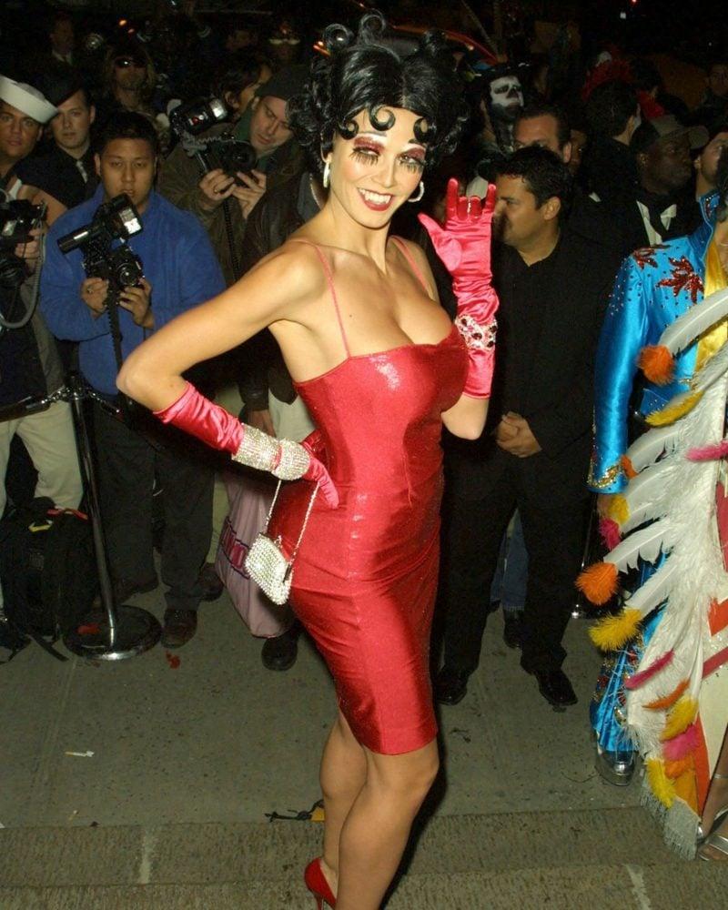 Halloween Kostüm Heidi Klum Betty Boop