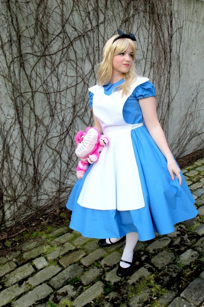 Alice im Wunderland Kostüm Grinsekatze Plüschtier